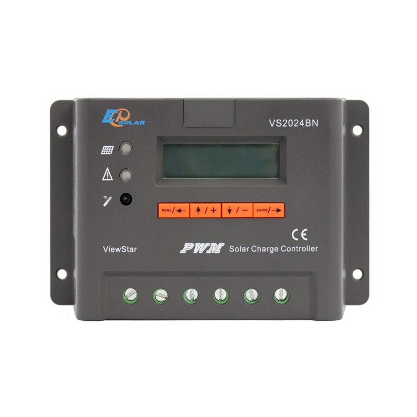 1 pc x 20A voir étoile VS2024BN 12 V 24 V Auto EP PWM système solaire Kit contrôleur LCD affichage