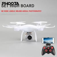 phoota 2.4GHz WIFI RC Drone 0.4MP HD camera 6 Axis Gyro Aircraft UAV Drone Headless Mode APP Control Quadcopter