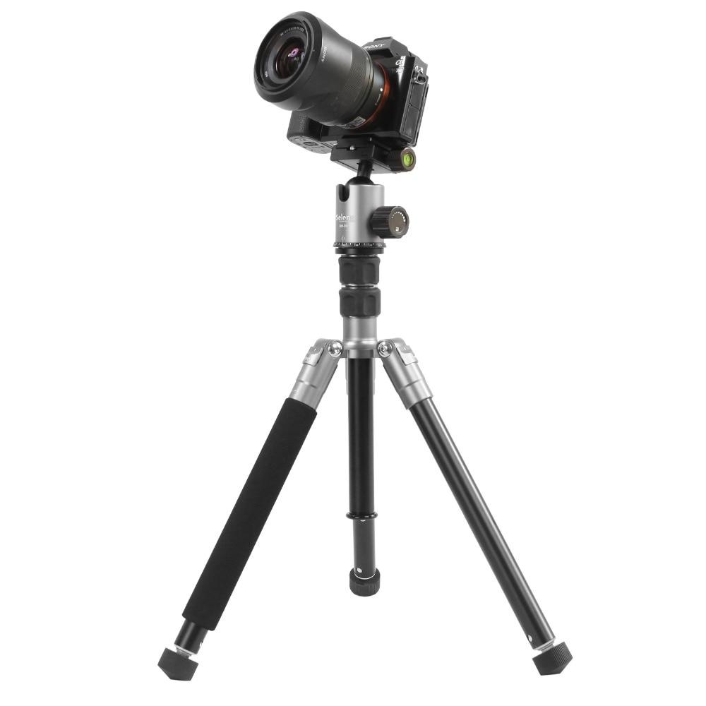 150 cm Selens dslr camera statief monopod professionele aluminium fotografische reizen opvouwbare statief camerastandaard