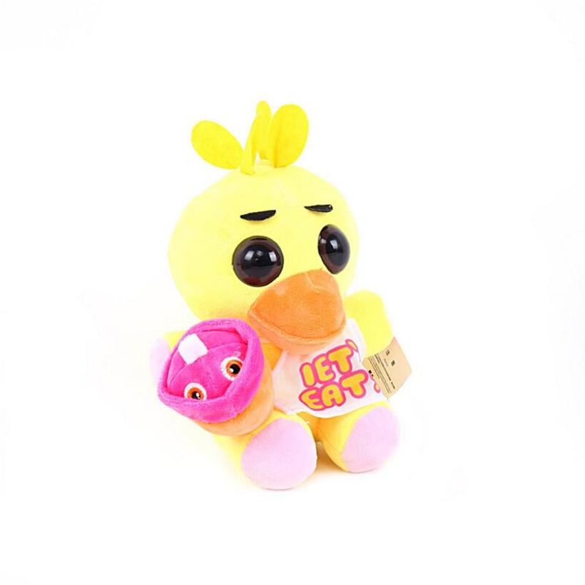 Kawaii 15 см пять ночь на Фредди фнаф мира Фредди медведь Foxy Бонни Плюшевые игрушки Аниме Фредди игрушки для подарки для детей