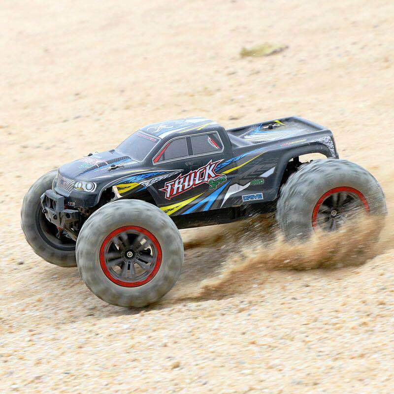 50KM/ H 2.4G Charging Big Foot High Speed Off-Road Truck Four-Wheel Drive Drift Dual <font><b>Motor</b></font> Model Racing <font><b>Car</b></font> Remote Control <font><b>Car</b></font> image