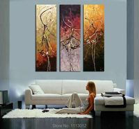 Modern Knife Ballet Angel Dancer Oil Painting Wall Pictures For Living Room Home Decoration Abstract Art