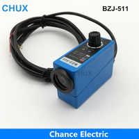 CHUX Popular Sensors Packing Machine Infrared Sensor BZJ-511 Color Mark Sensors Optical Switch