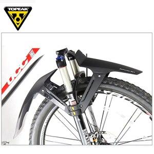 Image 5 - Topear garde boue pour vtt, 26, 27.5, 29 pouces, aile avant et arrière de la bicyclette large, garde boue VTT