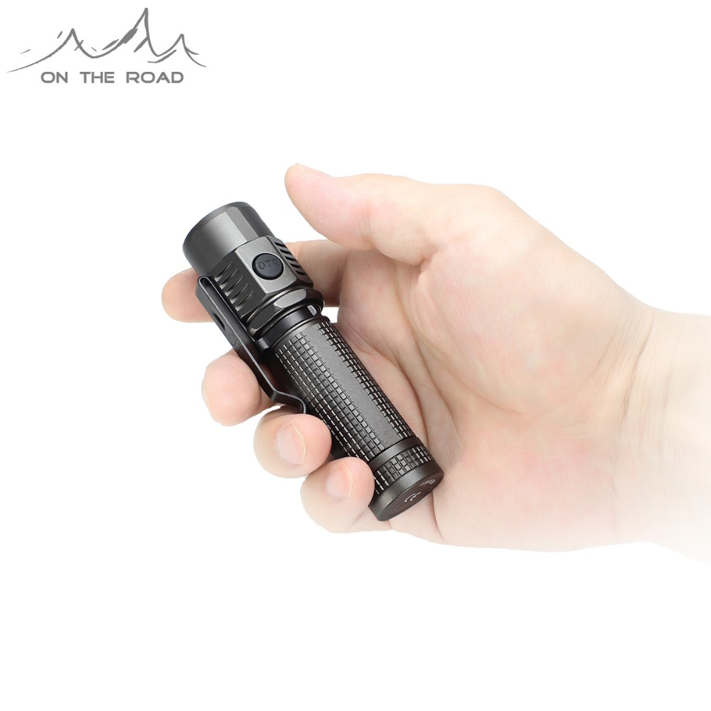 ON THE ROAD U18 Type-C USB Flashlight USB-C Torch Charge Mini Compact EDC Flashlight CREE LED Waterproof (Without Battery )