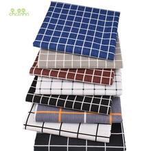 Chainho、チェック柄パターンシリーズ、綿プリントリネン生地diyのキルティング & 縫製ソファ、テーブル服、カーテン、バッグ、クッション材