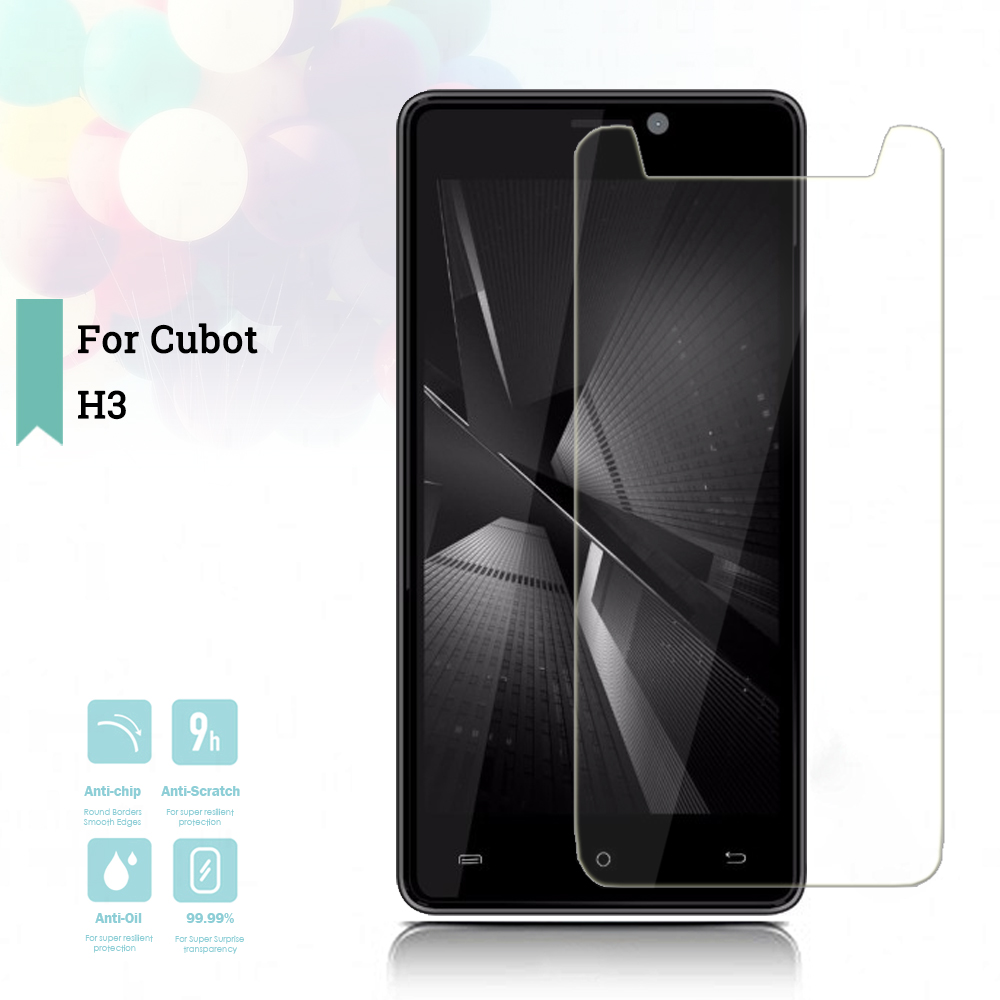 For Cubot H3 Glass Cubot H3 Tempered Glass On For Cubot H 3 Screen Protector Transparent HD Protective Protective Glass(China)