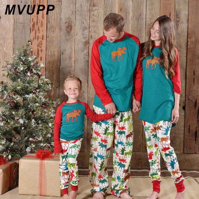 478151d4baf6 family matching christmas pajamas Mother daughter clothing clothes look mom  mommy and me baby girl outfits dress mum set pjs