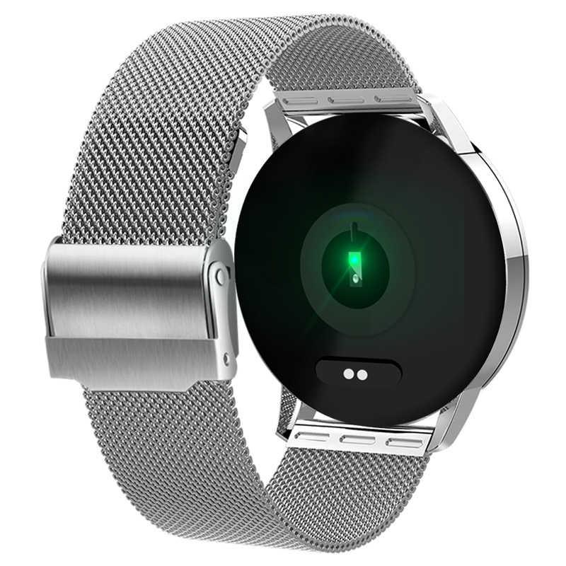 LIGE 2019 ساعة ذكية جديدة الرجال النساء شاشة OLED مراقب معدل ضربات القلب ضغط الدم جهاز تعقب للياقة البدنية الرياضة ساعة سوار ذكي