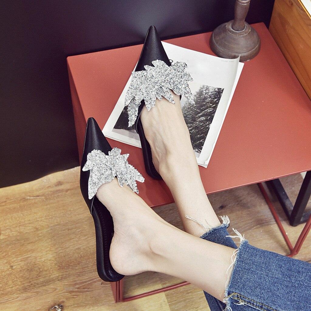 Bleu Marine et mousseux strass Shoe Clips