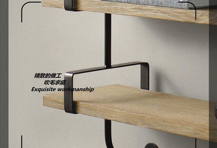 Hedendaags Closet planken houten muur plank Ijzer woord separator beugel ZA-66