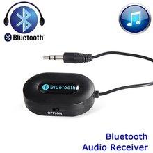 3.5 мм Bluetooth 3.0 Автомобилей Главная Музыка Аудио Стерео Приемник Адаптер Передатчик Черный Белый Горячие Продажа