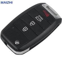 maizhi maizhi4 Buttons Folding Flid Key Case Shell for KIA Carens Cerato Forte K3 K5 Car