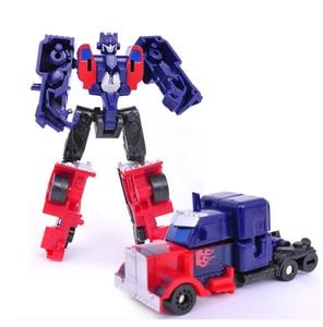 Image 3 - 1PCS Transformation Kinder Klassische Robot Autos Spielzeug Für Kinder Action & Spielzeug Figuren freies verschiffen