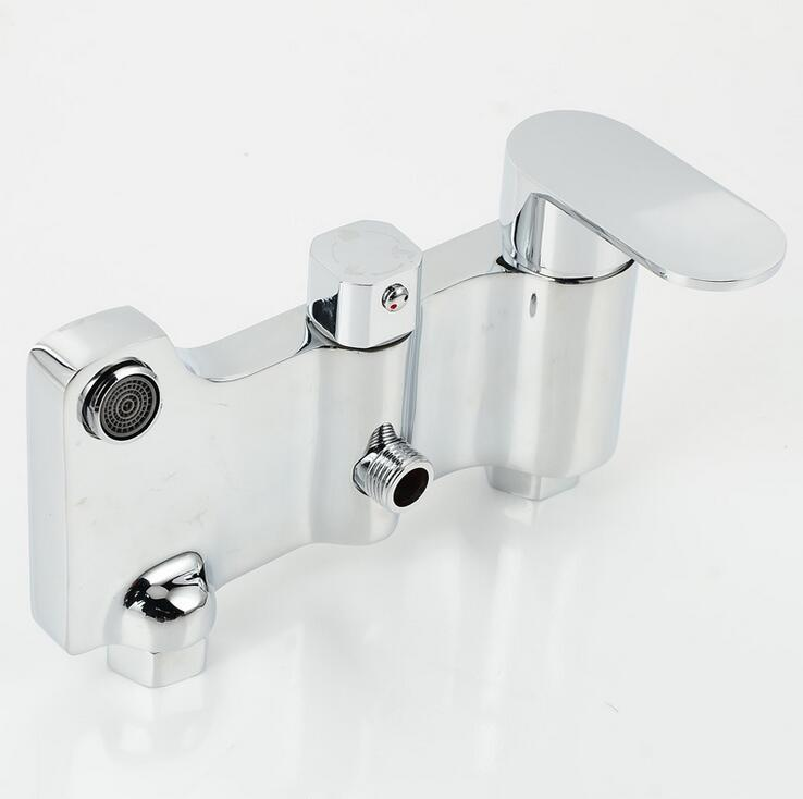 Shower Faucets Shower Copper Mixing Valve Thermostat: Thermostatic Bathroom Shower Faucet Mixing Valve, Copper