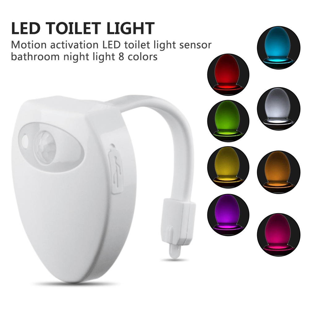 Astounding Us 5 49 2018 Usb Led Toilet Light Kids Children Baby Bathroom Nightlights Rgb 8 Colors Pir Motion Sensor Activated Toilet Seat Lamps In Led Night Beutiful Home Inspiration Xortanetmahrainfo