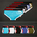 PINKHERO Name Brand New Soft Cotton Lycra Men's Underwear Printing Triangle Underpants Mens Briefs Boutique Male Homme Cueca