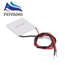 10PCS SAMIORE ROBOT TEC1 12706 12706 TEC 열전기 냉각기 펠티어 12V 반도체 냉각의 새로운 기능