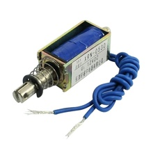 Solenoid electric solenoid type push / pull 10 mm DC 12 V 2.1 kg force