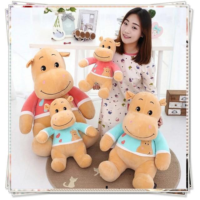Hippo Pillow Mattress Plush Soft Toys Minions Kids Ty Eyed Stuffed Animals