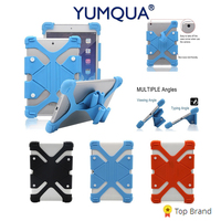 Universal Case For Samsung Galaxy Tab A Tablet S S2 Elastic Soft Silicone Stand For Huawei