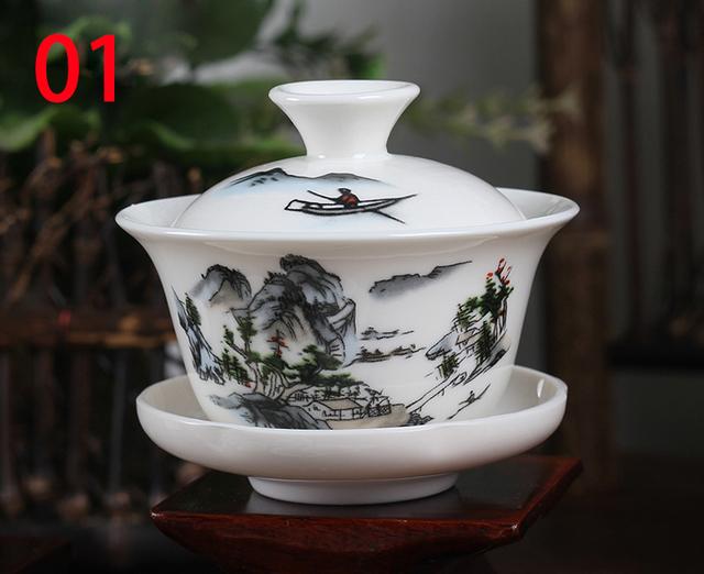 Traditional Gaiwan Tea Set