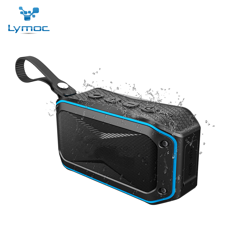 52MM IPX7 Waterproof Bicycle Wireless Speakers Bluetooth Subwoofer Portable Rugged Case Enhanced Bass Sound Box Handsfree