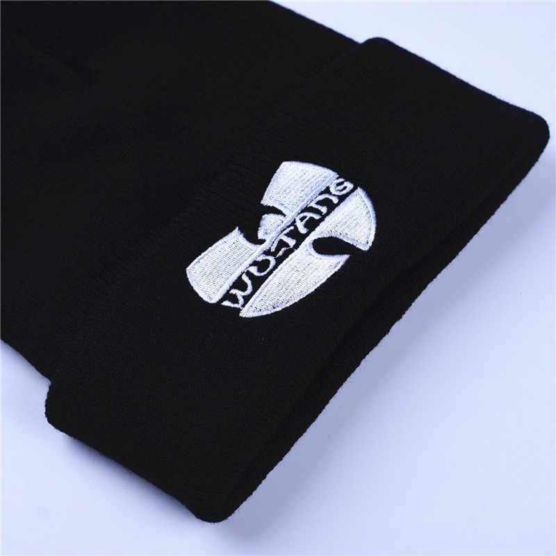 e938fb8003b ... Fashion Winter Wutang Letter WU-TANG CLAN Musice Beanie Skullies Knitted  Women Wu Tang Hat