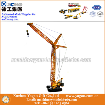 1 120 Scale Model Diecast Toy Construction Model XCMG XGC260 Tower Crane Model Craft Gift