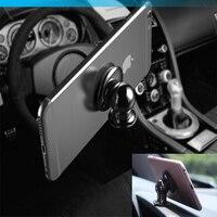 360 derece universal araç tutucu manyetik hava firar dağı smartphone dock iphone için cep telefonu tutucu cep telefonu tutucu standları