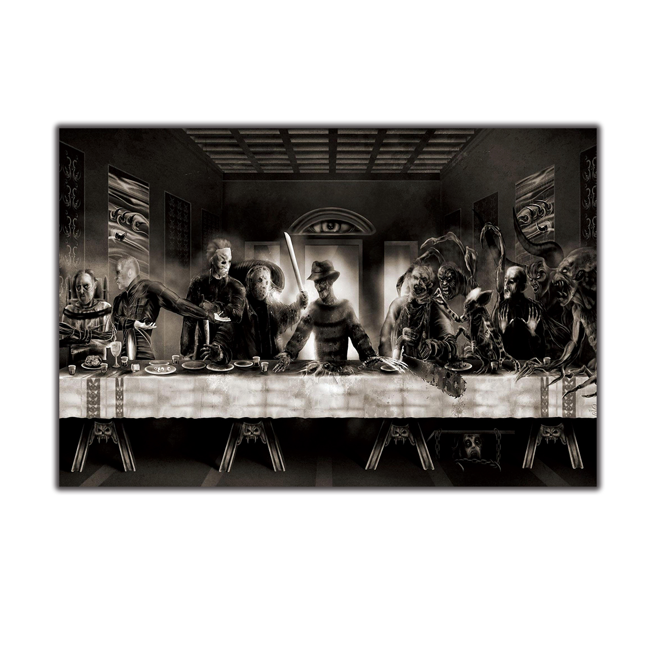 Avengers Infinity War The Avengers 3 The Last Supper Hot Silk Poster C-3026