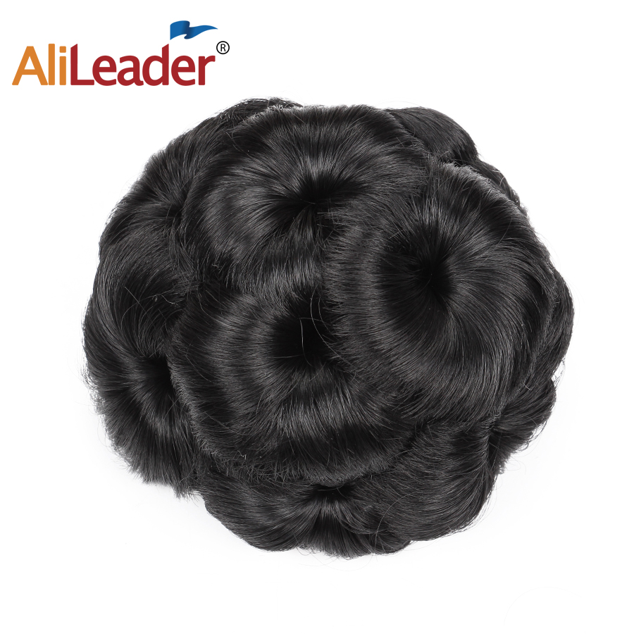 Aliexpress Buy Alileader Hair Bun Extension Hairpieces For