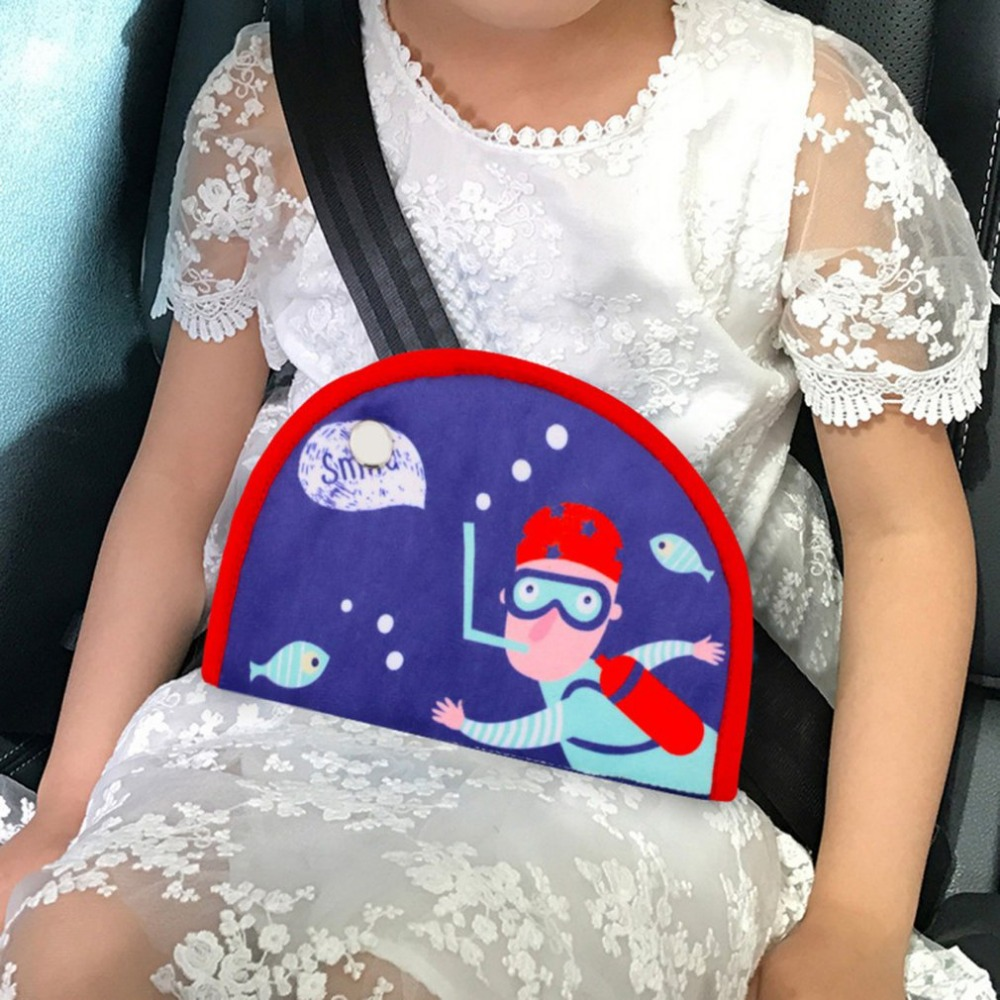 Triangle Car Safety Belt Baby Kids Children Seat Belt Holder Triangle Safety Restraint Belt Protector Car Interiors