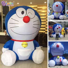 Price-off promotions Giant Inflatable doraemon cartoon toys/sitting doraemon cartoon / inflatable cat cartoon toys for children