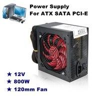 Quiet 800 Watt 800W For Intel AMD PC 12V ATX PC Power Supply SLI PCI E