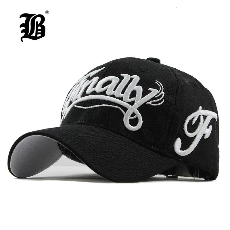 bb6c6c7f0e04 [FLB 100% gorra de béisbol de algodón mujeres casual snapback sombrero para  hombres de moda Vintage gorra homme carta bordado gorras f114