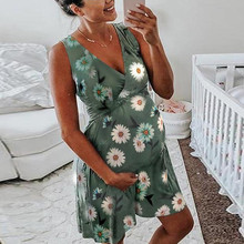 Одежда для грудного вскармливания; Хлопковое платье для беременных; летняя одежда для беременных; коллекция года; модная одежда для женщин;# G67