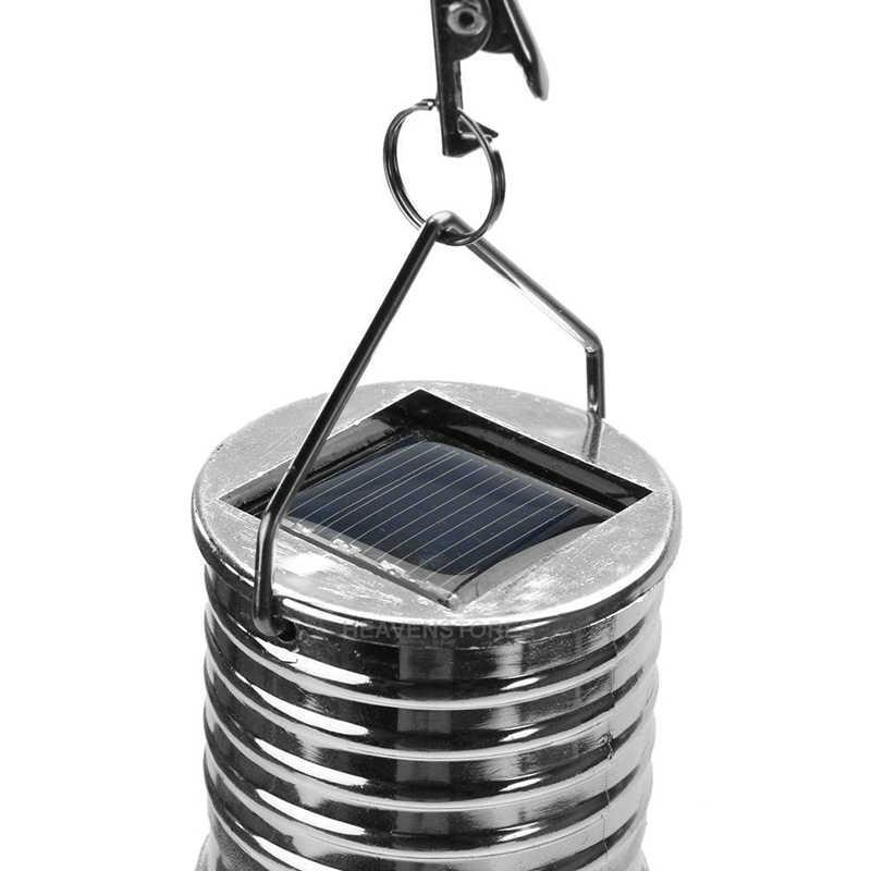 Солнечный фонарь с зарядным устройством светодиодный лампочка Беспроводная вращающаяся Водонепроницаемая садовое дерево подвесное украшение солнечные огни рампы красочные
