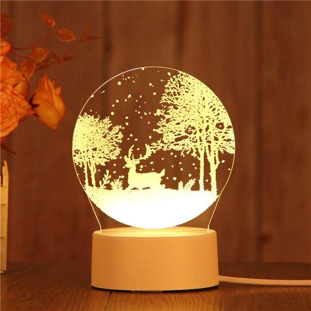 Nordique Une Fille Pour 3d Impression Lumière Personnalisé Bureau Lampes Meilleure Vente Livraison Salon De Table Lampe Creative Meilleur Cadeau c3Rq54jLSA