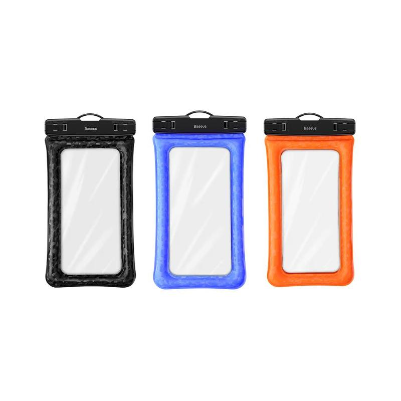 Baseus Air cushion waterproof bag for iPhone x 7 phone pouch for Samsung for huawei phone bag universal Lanyard