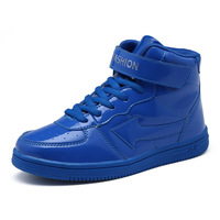 New Pu Boys Boots Children S Basketball Shoes For Youth Running High Top Sports Shoes Sport