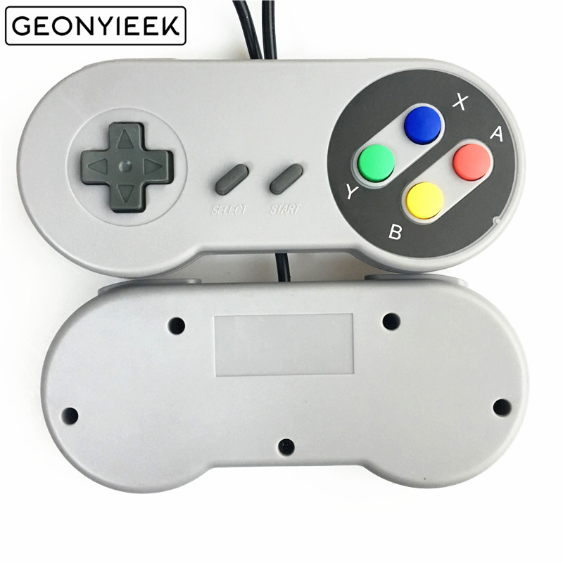 USB 2.0 PC Gamepad Wired Game Controller Joystick Joypad Game Controller SNES Game Pad for Windows PC MAC Computer Control game controller