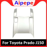 For Toyota LAND CRUISER PRADO 150 FJ150 2018 Rear Air Conditioning Outlet Cover Anti kick board Trims ABS Chrome Car Accessories