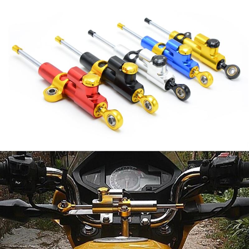 ФОТО Universal Aluminum Motorcycle CNC Steering Damper For KTM 1190 Adventure Adventure R RC8 R RC8 R TRACK RC8R Duke EXC SIX DAYS