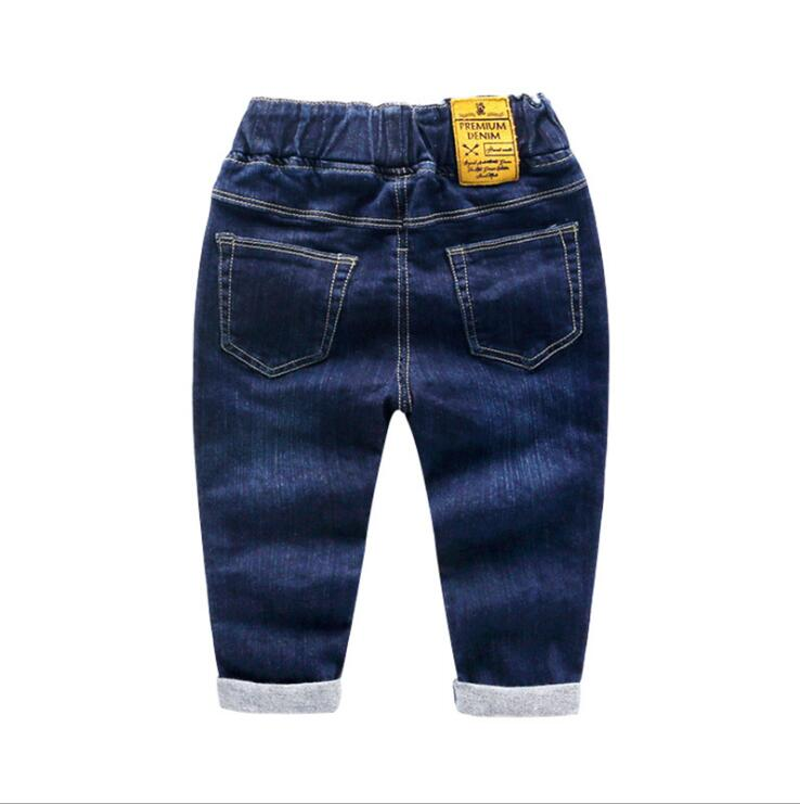 d3cc1e1d6 Brand Kids Cartoon Trousers Pant Fashion Girls Jeans Children Boys Hole  Jeans Kids Fashion Denim Pants Baby Jean Infant Clothing-in Jeans from  Mother & Kids ...