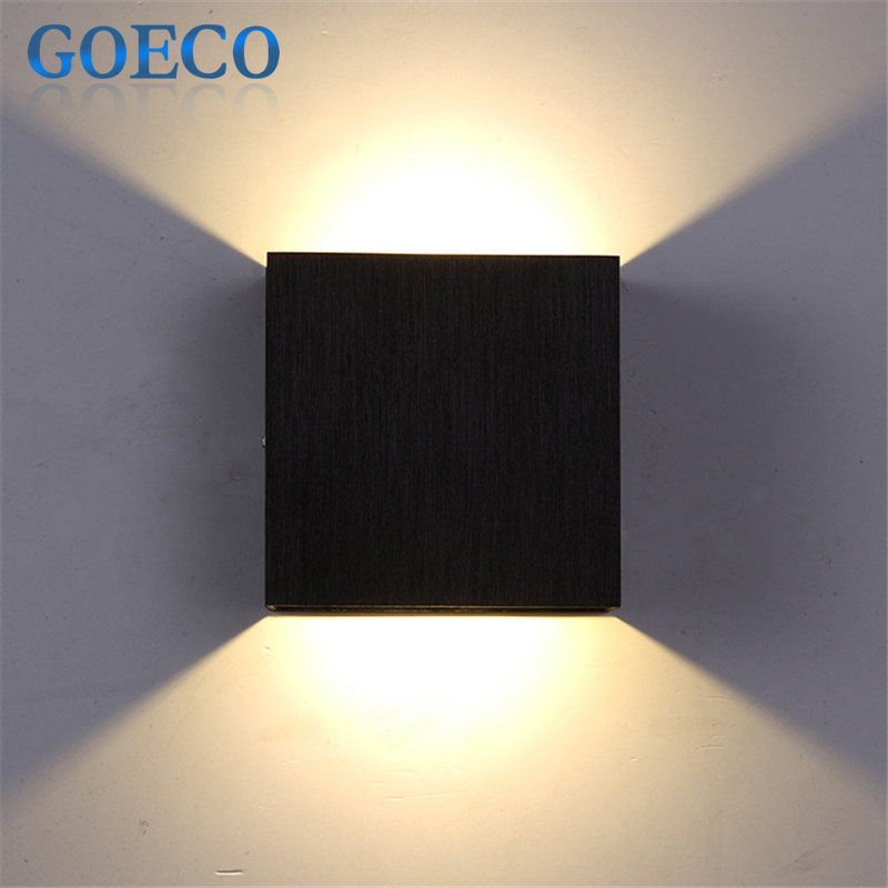 3w led wall lamp 10cm 10cm 5cm luminaire apliques pared for Lamparas de pared