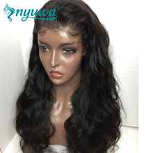 Full Lace Human Hair Wigs For Woman Pre Plucked Natural Hairline Body Wave Brazilian Remy Hair