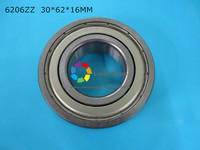 6206ZZ 1 Piece Bearing Free Shipping 6206 6206Z 6206ZZ 30 62 16mm CHROME STEEL DEEP GROOVE