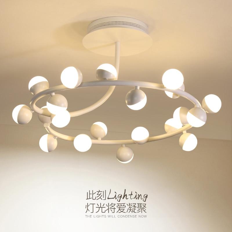цена на Post-modern living room Ceiling lamps novelty bedroom Ceiling lighting Nordic illumination loft fixtures LED Ceiling Lights