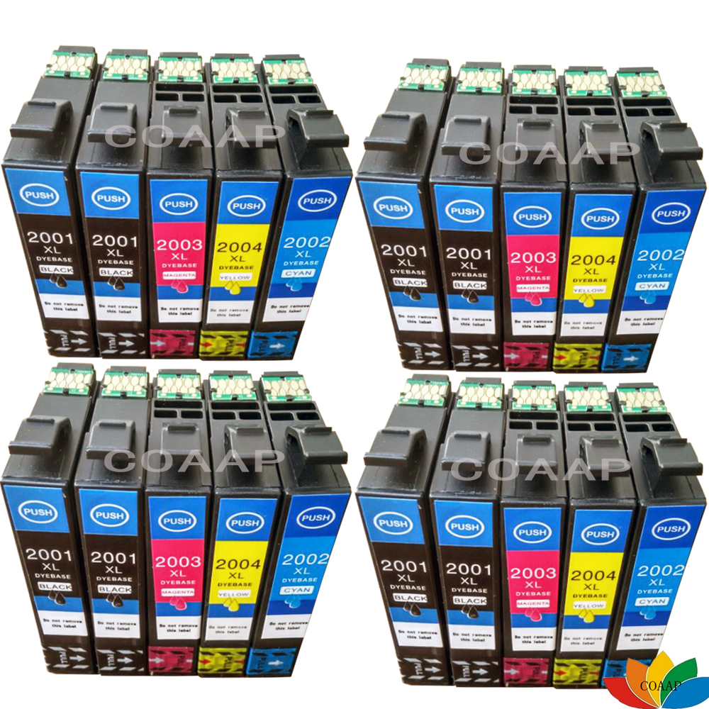 20x Compatible Ink Cartridges for <font><b>EPSON</b></font> T200XL T2001 <font><b>XP</b></font>-100 <font><b>XP</b></font>-200 <font><b>XP</b></font>-300 <font><b>XP</b></font>-<font><b>400</b></font> Printers image